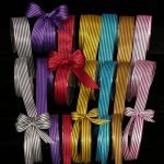 "5/8"" Stripe Satin Ribbon (#09040-122)"