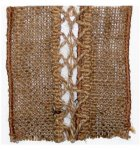 "4"" Laced Burlap 2 - Wired Edge (#90838W)"