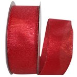 Metallic Tile Link Ribbon - Wire Edge