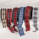 "1 1/2"" Wired Tartan Plaid (#13021-129)"