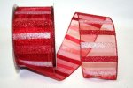"2 1/2"" Sheer Cabana Stripe - WE (#92291W)"