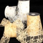 Lace Ribbon - Non-Wired (#28413-156-AR)