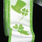 "1 1/2"" St Patrick Ribbon - WE (#15591-156)"