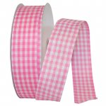 "1 1/2"" Great Gingham Check 3 Value Ribbon Wire Edge"