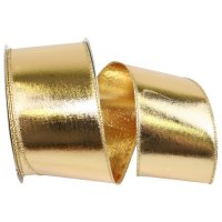Gold Lame Foil Metallic Two-Sided - Wire Edge